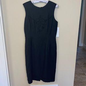 Donna Morgan Black Sleeveless Dress Size 10